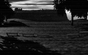 Asylum as seen from Floran City